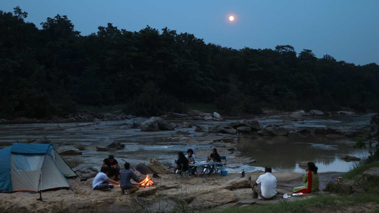 Campfire, Star Gazing, and Barbeque dinner
