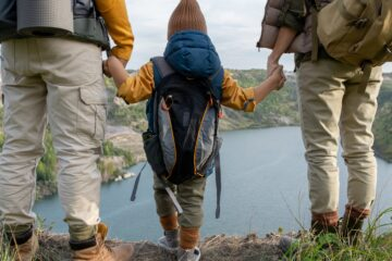 backpacking with children