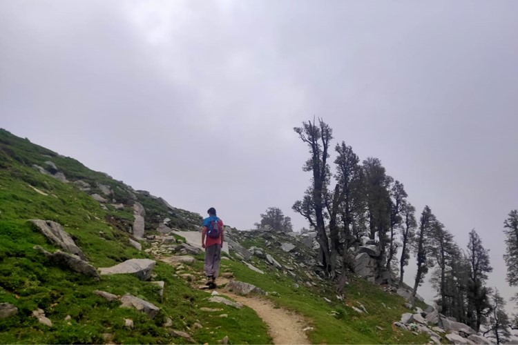 Indrahar Pass Height 14,250 ft