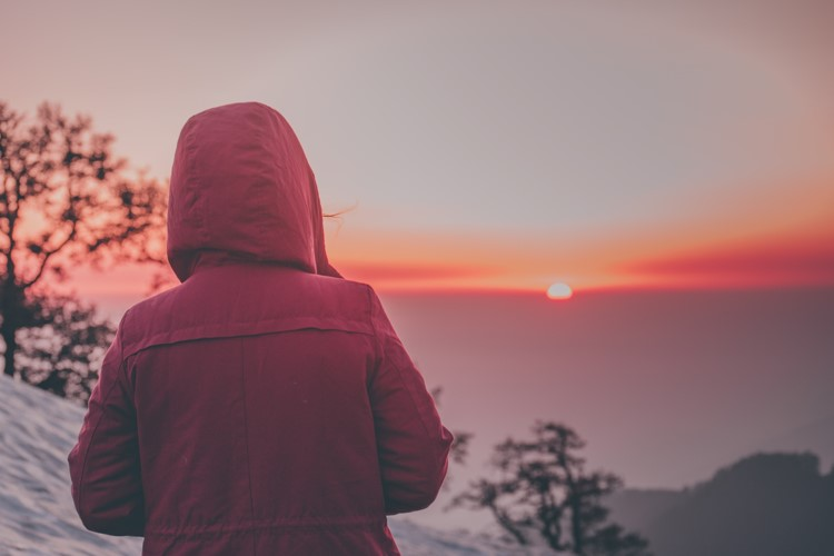 Sunset from Triund Top