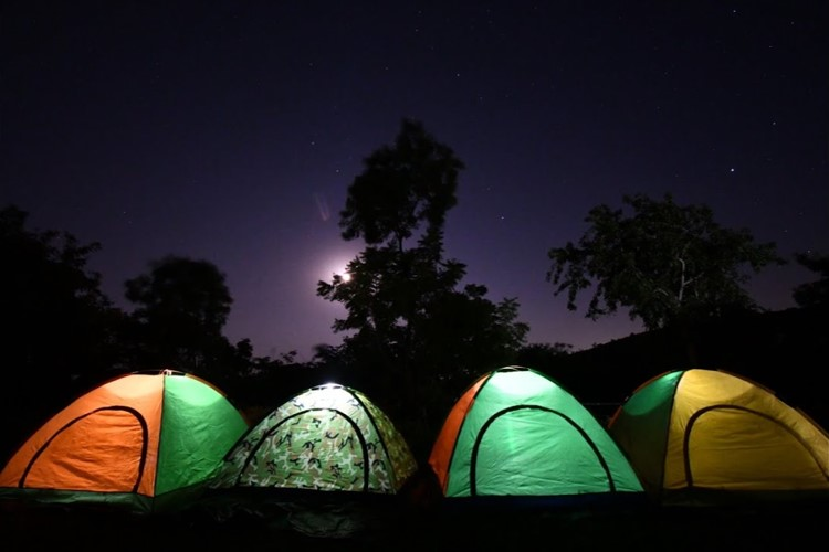 Camping in Udaipur, Alsigarh