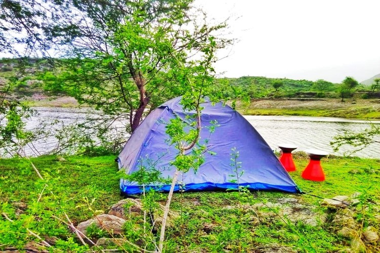 Camping near Udaipur, Alsigarh