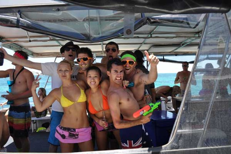 Boat Party in Goa | Moustachescapes.com