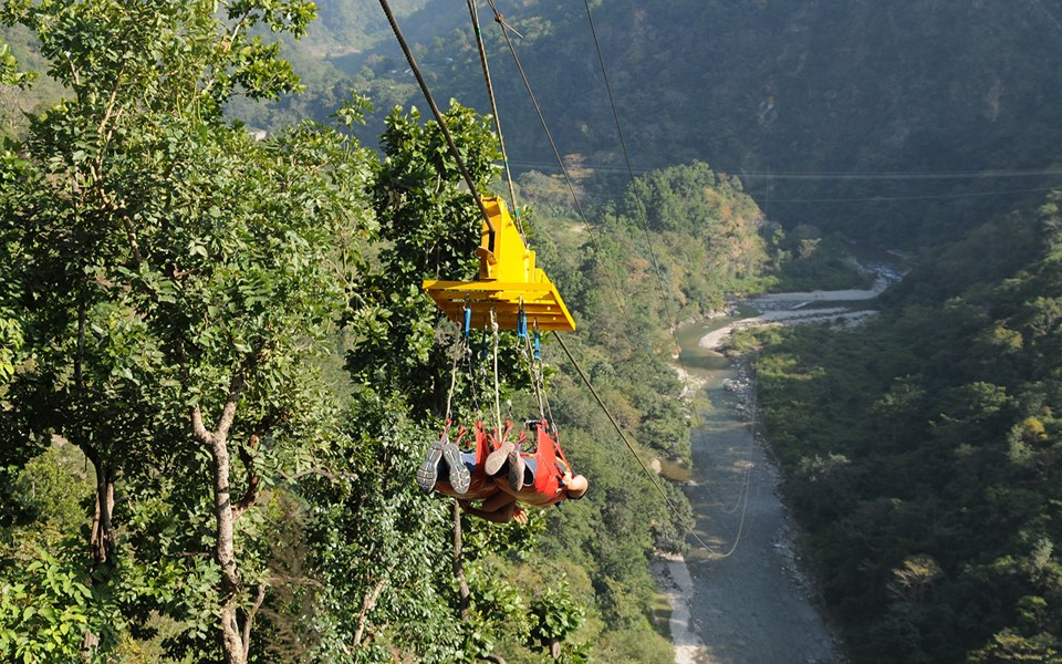 Flying Fox Rishikesh with Moustache Escapes