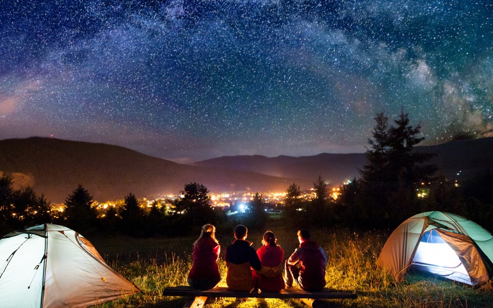 Night Camping in Udaipur